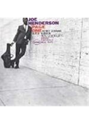 Joe Henderson - Page One [Remastered]