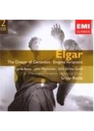 Edward Elgar - Dream Of Gerontius, Enigma Variations (Rattle) (Music CD)