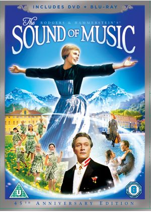 Sound Of Music  (DVD + Blu-ray, with DVD Packaging)