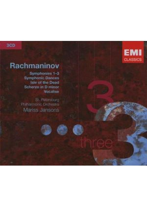 Sergey Rachmaninov - Symphonies Nos. 1 - 3/Orchestral Works (Jansons) (Music CD)