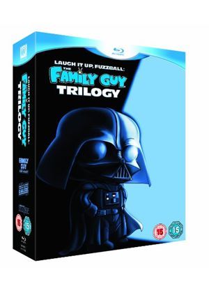 The Family Guy Trilogy, Star Wars, Laugh It Up, Fuzzball - Triple Play (Blu-ray, DVD + Digital Copy)