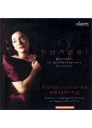 George Frideric Handel - 3 Portraits Of Mezzo-Soprano Heroines [Swiss Import]