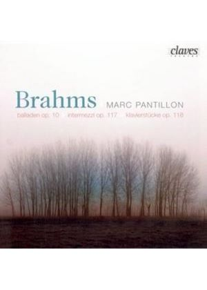 Brahms: Piano Works Opp 10, 117 and 118