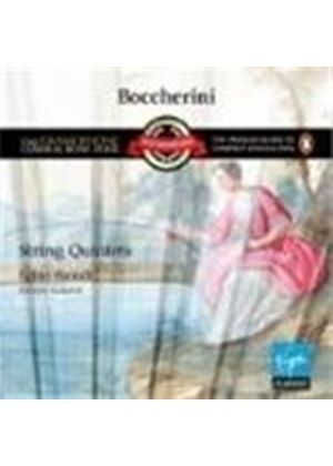 Luigi Boccherini - String Quartets (Galante) (Music CD)