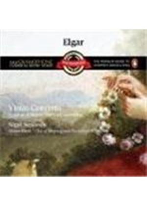 Elgar/Vaughan Williams - Violin Concerto/The Lark Ascending (Rattle, Cob So, Kennedy) (Music CD)