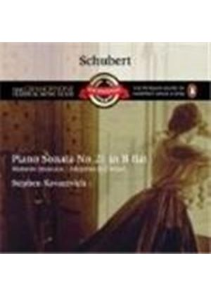 Franz Schubert - Piano Sonata No. 21 - Allegretto D915/D780 (Kovacevich) (Music CD)
