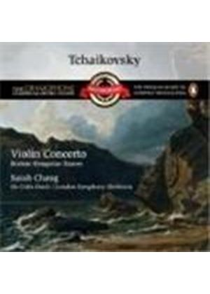 Tchaikovsky/Brahms - Violin Concerto In D/Hungarian Dances (Davis, Lso, Chang) (Music CD)