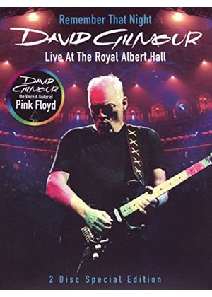 David Gilmour: Remember That Night.....Live At The Royal Albert Hall (Music DVD)