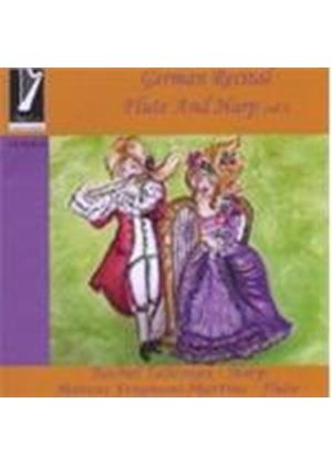 German Recital for Flute & Harp Vol.1 (Music CD)