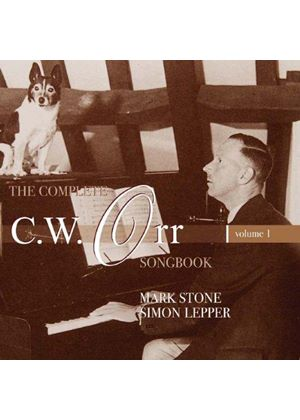 Complete C.W. Orr Songbook, Vol. 1 (Music CD)