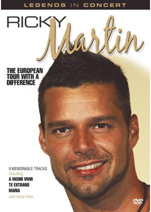 Ricky Martin - European Tour With A Difference