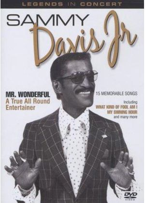 Sammy Davis, Jr. - Legends in Concert (Mr. Wonderful/+DVD)