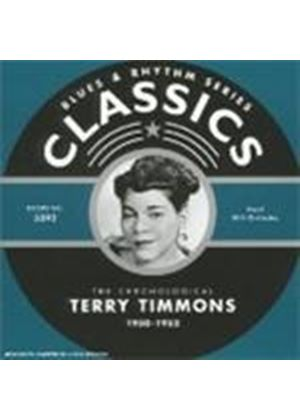 Terry Timmons - Classics 1950 - 1953 [French Import]