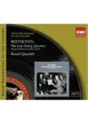 Beethoven, Ludwig Van - Late String Quartets, The (Busch Quartet) (Music CD)
