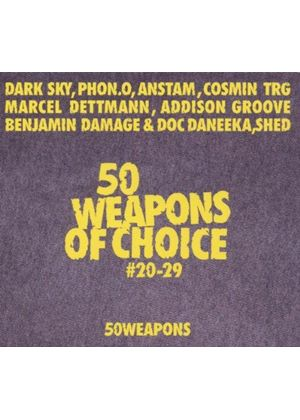 Various Artists - 50 Weapons of Choice, No. 20-29 (Music CD)