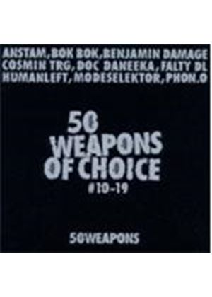 Various Artists - 50 Weapons Of Choice No.10-19 (Music CD)