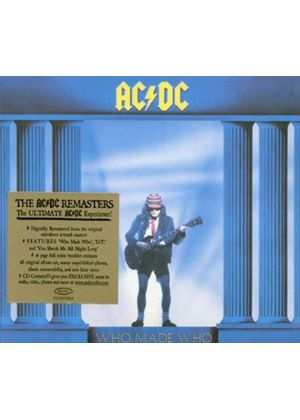 AC/DC - Who Made Who: Soundtrack to Maximum Overdrive (Music CD)