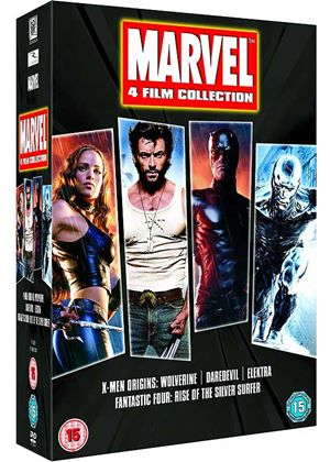 Marvel 4 Film Collection