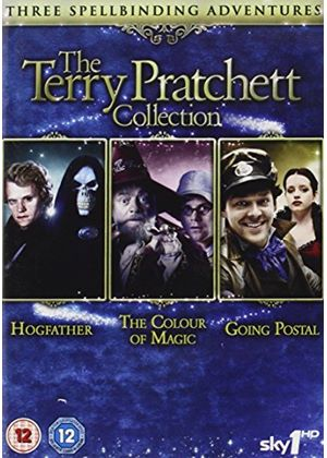 Terry Pratchett Collection (Hogfather, Colour of Magic, Going Postal)