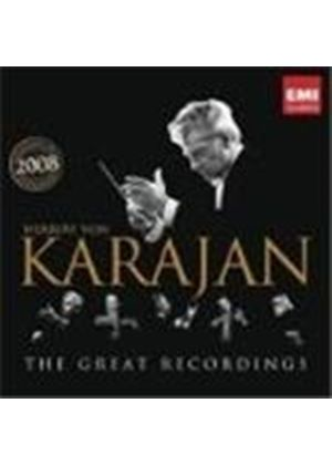 Herbert Von Karajan - The Great Recordings (Music CD)