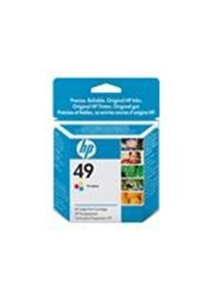 HP 49 Large - Print cartridge - 1 x color (cyan, magenta, yellow) - 310 pages