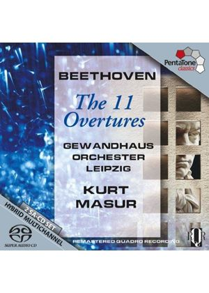 Beethoven: The 11 Overtures [SACD] (Music CD)