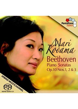Beethoven: Piano Sonatas Op. 10, Nos. 1-3 [SACD] (Music CD)
