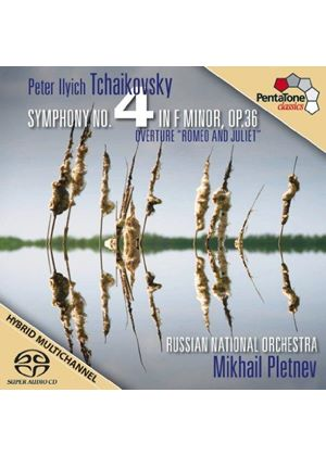 "Tchaikovsky: Symphony No. 4; Overture ""Romeo and Juliet"" [SACD] (Music CD)"