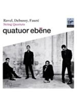 Fauré; Debussy; Ravel: String Quartets (Music CD)
