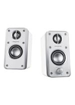 Creative GigaWorks HD50 - PC multimedia speakers - 36 Watt (total) - piano white