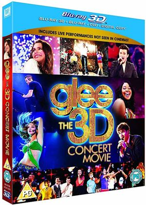 Glee The 3D Concert Movie Ultimate Edition (3D Blu-Ray & Blu-Ray & DVD & Digital Copy)