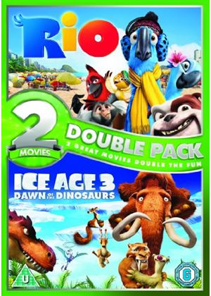 Rio / Ice Age 3 - Dawn of the Dinosaurs Double Pack