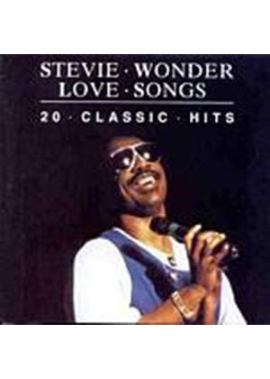 Stevie Wonder - Love Songs - 20 Classic Hits (Music CD)