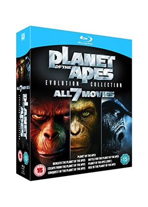 Rise of the Planet of the Apes: Evolution Collection 1 - 7 (2011 - Blu-Ray)