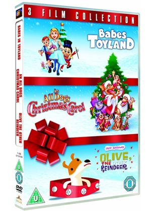 Animated Christmas Triple (Babies in Toyland, Olive the Other Reindeer, All Dogs Christmas Carol)