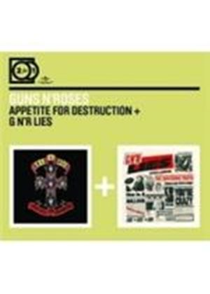 Guns n' Roses - Appetite For Destruction/G n' R Lies (Music CD)