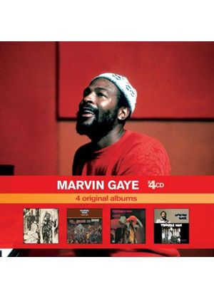 Marvin Gaye - Marvin Gaye X 4 (Here My Dear/I Want You/Let's Get It On/Trouble Man) (Music CD)