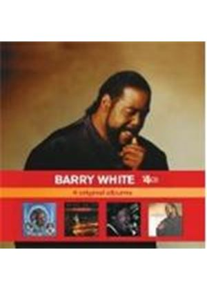 Barry White - Barry White X 4 (Can't Get Enough/Let The Music Play/Just Another Way/The Icon Is Love) (Music CD)