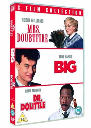 Big / Mrs Doubtfire / Dr Dolittle Triple Pack