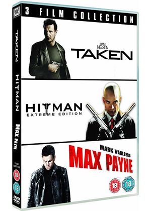 Taken/ Hitman/ Max Payne - Triple Pack