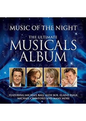 Various Artists - Music of the Night (The Number One Musicals Album) (Music CD)