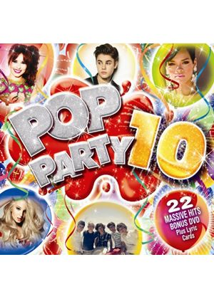 Various Artists - Pop Party 10 (2 CD) (Music CD)