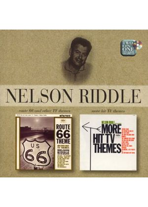 Nelson Riddle And His Orchestra - Route 66 And Other TV Themes/More Hit TV Themes (Music CD)