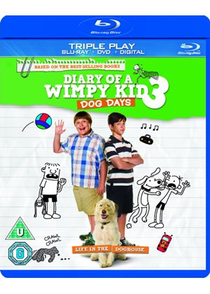 Diary of a Wimpy Kid 3: Dog Days - Triple Play (Blu-ray + DVD + Digital Copy)