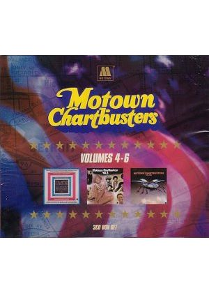 Various Artists - Motown Chartbusters Volumes 4 - 6 (Music CD)