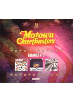 Various Artists - Motown Chartbusters Volumes 1 - 3 - Boxset (Music CD)