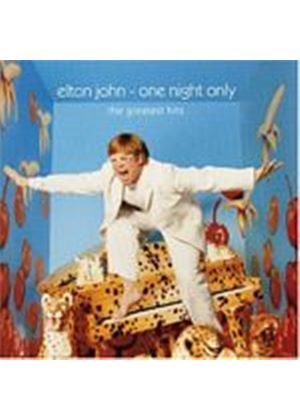 Elton John - One Night Only - Greatest Hits Live (Music CD)