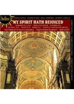 My Spirit Hath Rejoiced (Music CD)