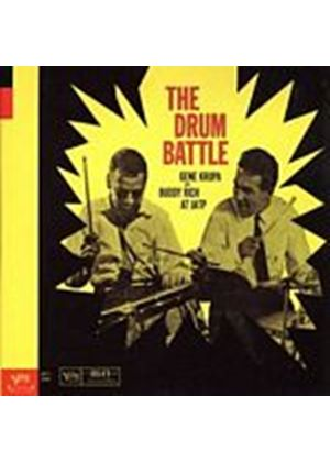 Gene Krupa And Buddy Rich - Drum Battle At Jatp (Music CD)