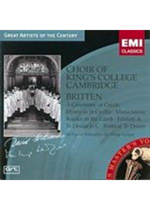 Benjamin Britten - Hymn To St. Cecilia, A Ceremony Of Carols (Ledger) (Music CD)